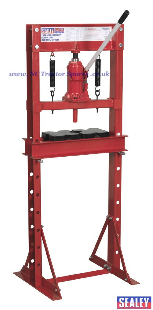 Hydraulic Press 10tonne Economy Floor Type
